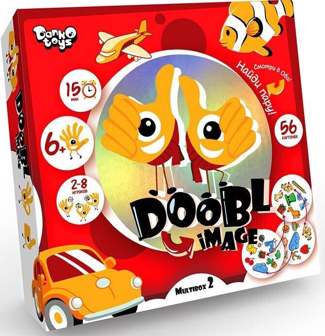 Настольная игра Двойная картинка / Doobl Image: Для мальчиков. Большая