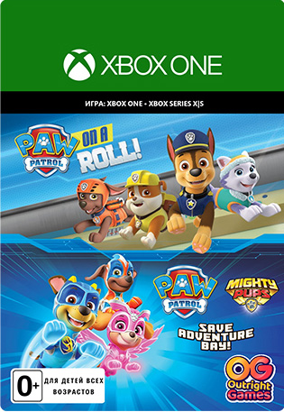 Paw Patrol Bundle [Xbox, Цифровая версия] (Цифровая версия)