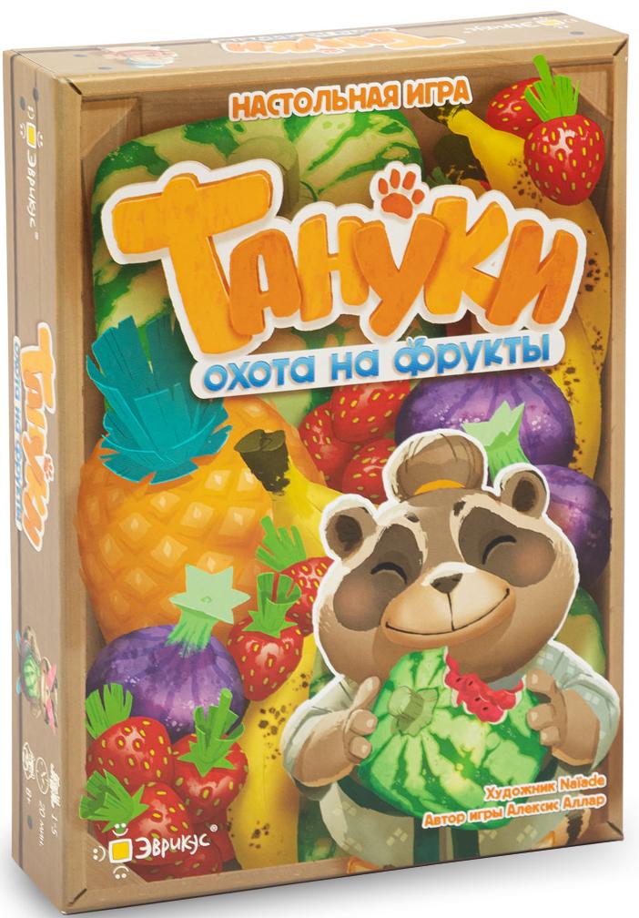Настольная игра Тануки: Охота на фрукты