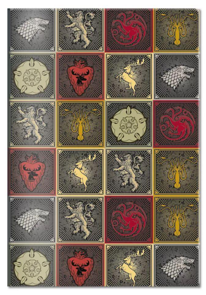Обложка на паспорт Игра Престолов: Гербы Домов