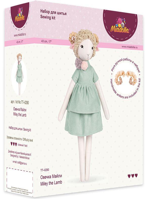 Набор для изготовления игрушки Miadolla: Овечка Майли
