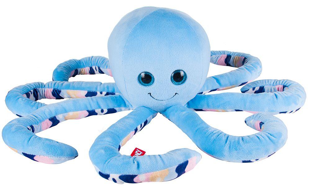 Мягкая игрушка Осьминог (голубой)