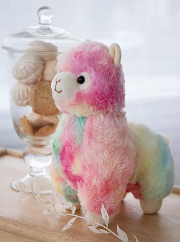 Мягкая игрушка Альпака (цветная)