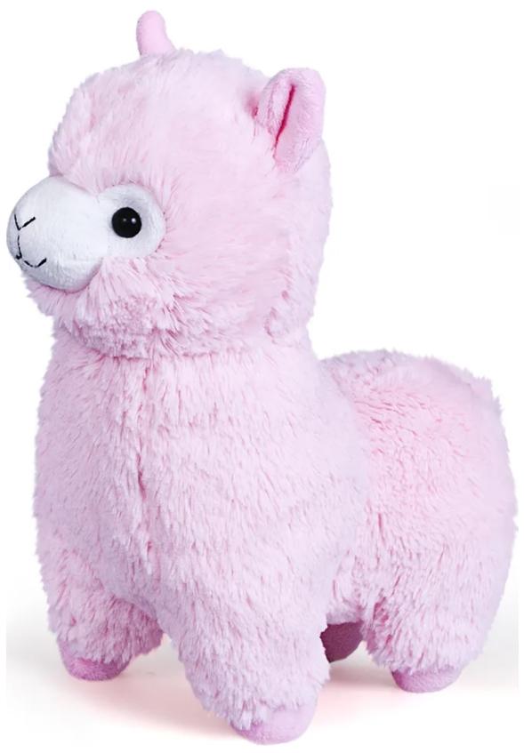 Мягкая игрушка Альпака (розовая)