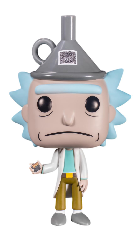 Фигурка Funko POP Animation: Rick And Morty – Rick With Funnel Hat Exclusive (9,5 см) ройланд джастин старкс кайл рик и морти истории за кадром