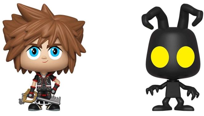 Фигурка Funko Vinyl Figure Disney: Kingdom Hearts II – Sora & Shadow Heartless (2 шт.)