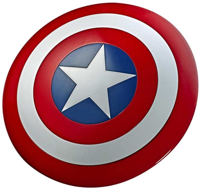 Реплика Щит Капитана Америка Marvel Legends Series: Avengers – Captain America Shield. Масштаб 1:1
