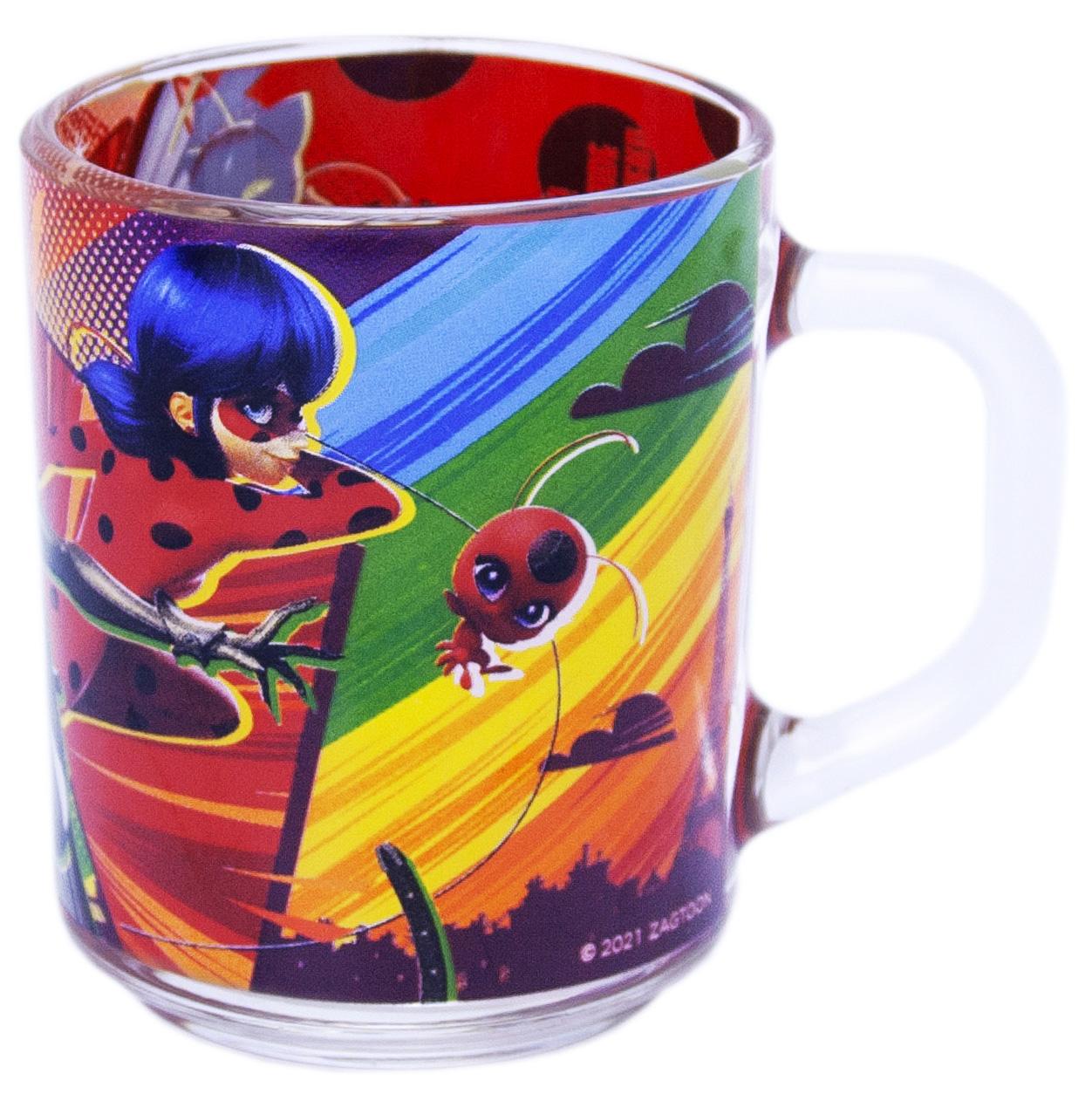 Кружка Леди Баг и Супер Кот: Комиксы (стекло) (230 мл.) недорого
