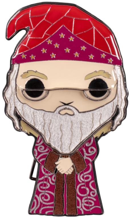 Значок Funko Pop Pin: Harry Potter – Albus Dumbledore Large Enamel Pin недорого