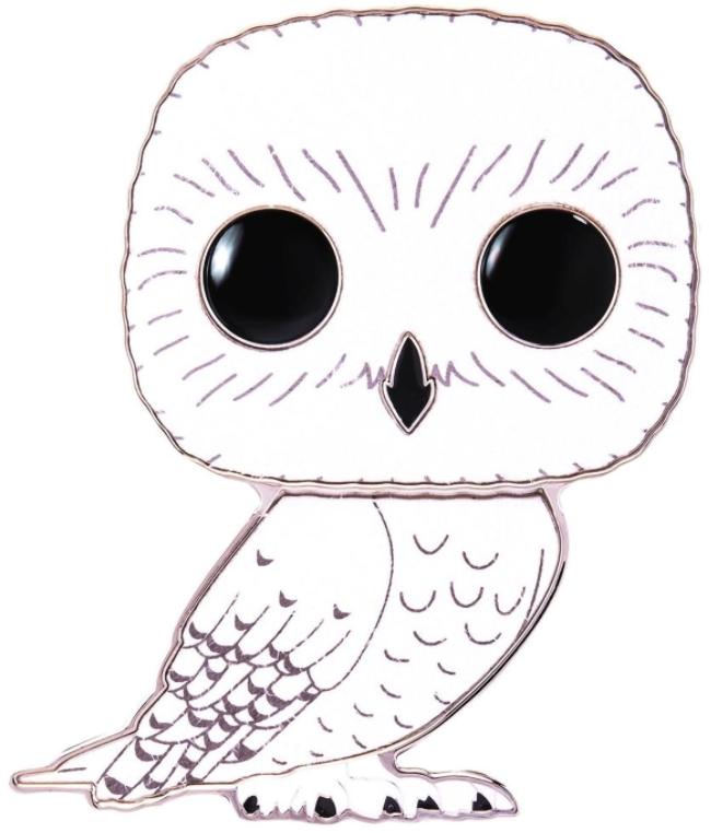 Значок Funko Pop Pin: Harry Potter – Hedwig Large Enamel Chase Pin недорого