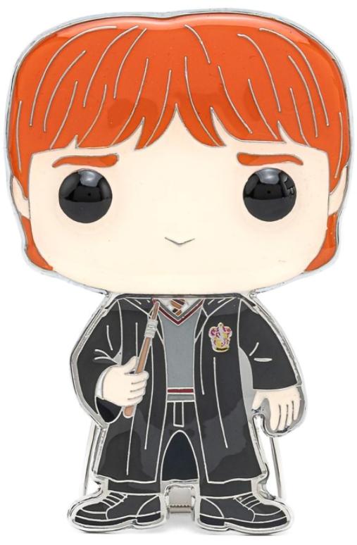 Значок Funko Pop Pin: Harry Potter – Ron Weasley Large Enamel Pin недорого