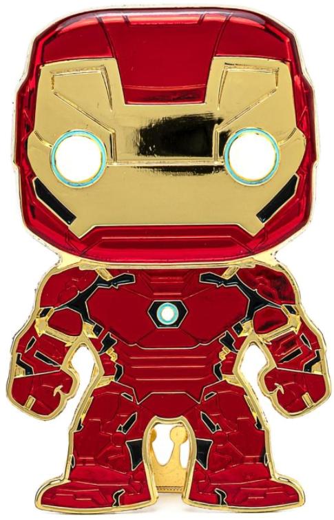 marvel wearable iron man mk5 voice activated deformation helmet Значок Funko Pop Pin: Marvel – Iron Man Large Enamel Pin