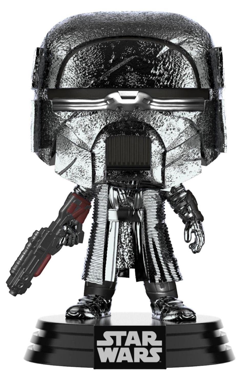Фото - Фигурка Funko POP: Star Wars Rise of Skywalker Knight Of Ren – Blaster Rifle Hematite Chrome Bobble-Head (9,5 см) фигурка funko pop star wars rise of skywalker – jannah bobble head 9 5 см