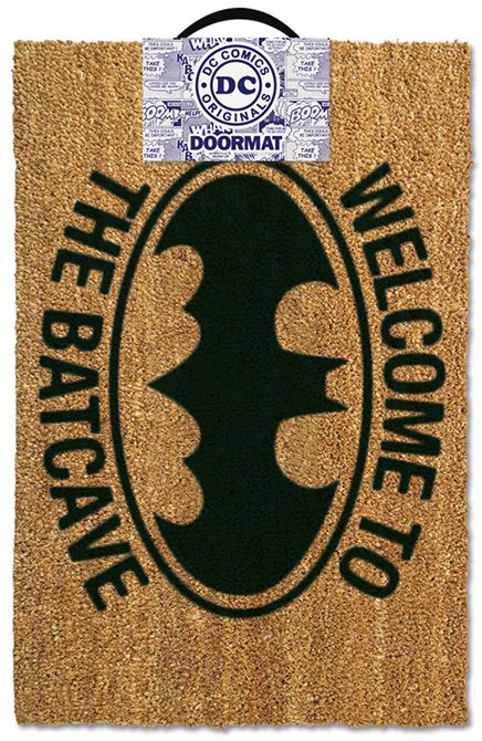 Фото - Придверный коврик DC Batman: Welcome To The Batcave коврик the joker welcome to arkham asylum