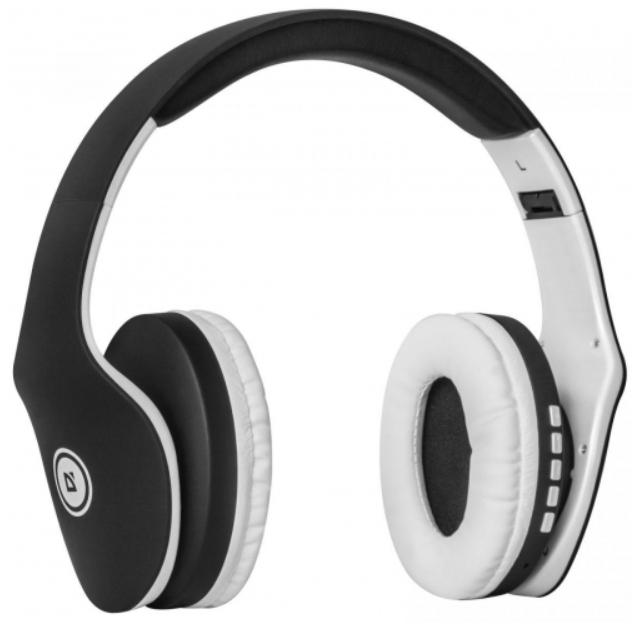 Гарнитура Defender FreeMotion B525 Bluetooth-беспроводная для PC (черный + белый)
