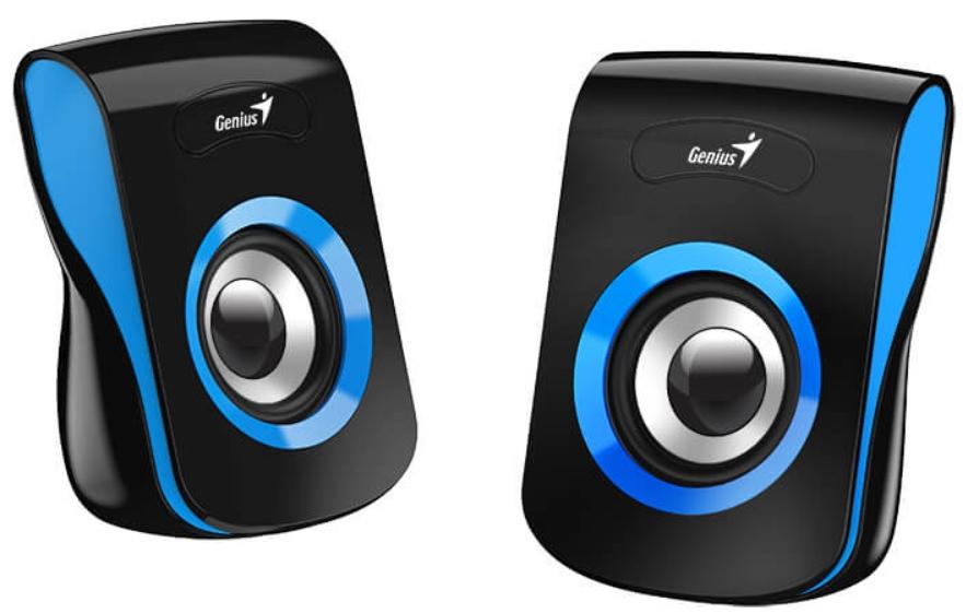 Колонки Geinus SP-Q180 проводные для PC (синие)