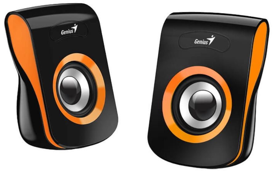 Колонки Geinus SP-Q180 проводные для PC (оранжевые)