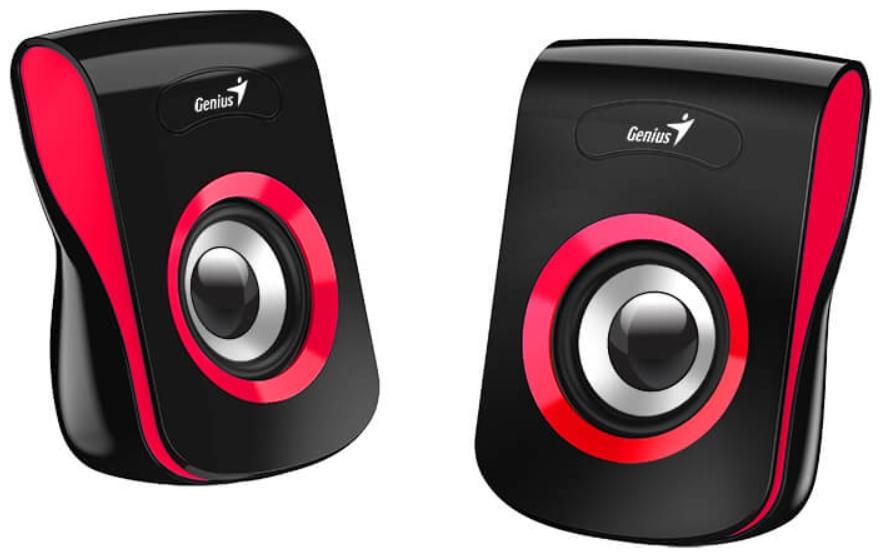 Колонки Geinus SP-Q180 проводные для PC (красные)