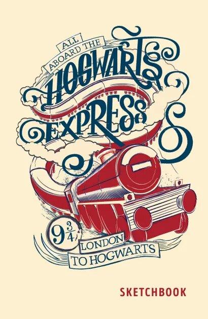 Скетчбук Гарри Поттер: Хогвартс-экспресс