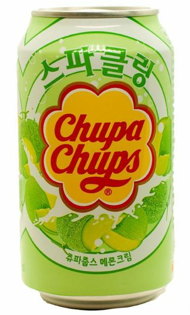 Напиток газированный Chupa Chups Вкус дыни со сливками (250мл)