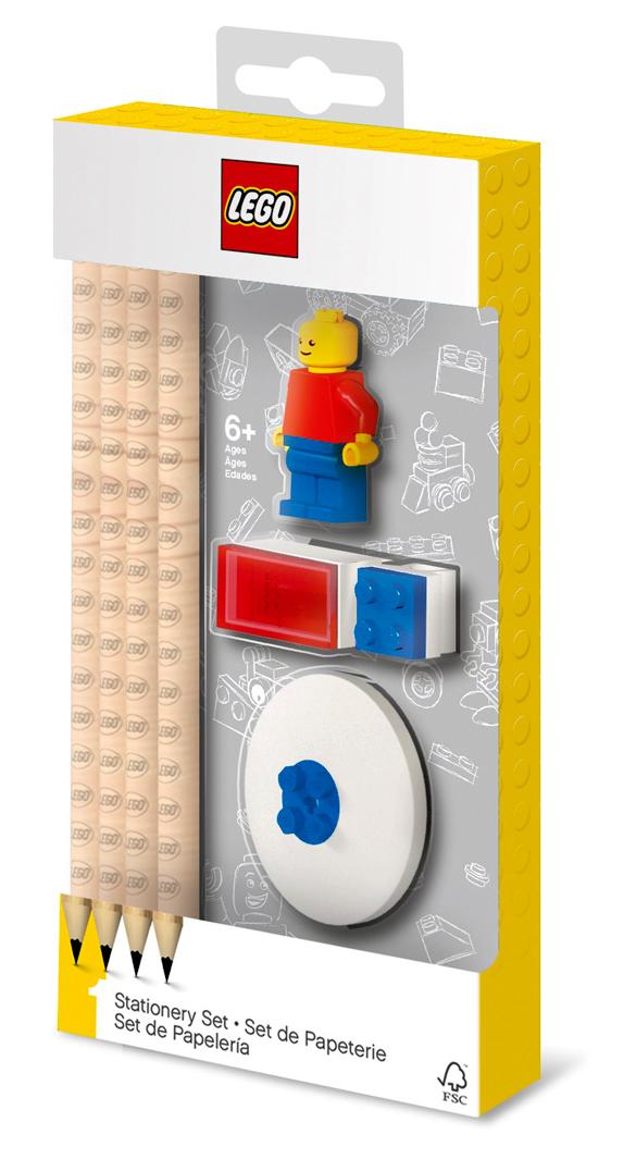 Канцелярский набор LEGO с минифигуркой LEGO Classic