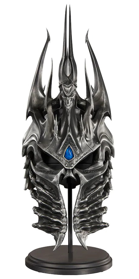 Фигурка World Of Warcraft Arthas Helm of Domination – Blizzard Exclusive Replica (38 см)