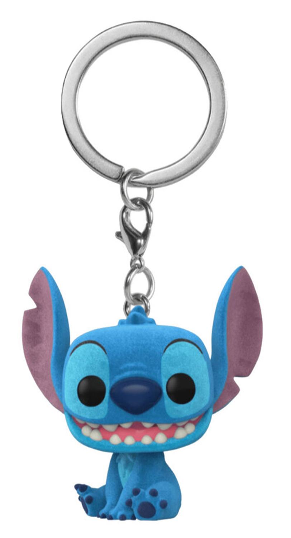 Брелок Funko Pocket POP: Disney Lilo & Stitch – Stitch Flocked Exclusive