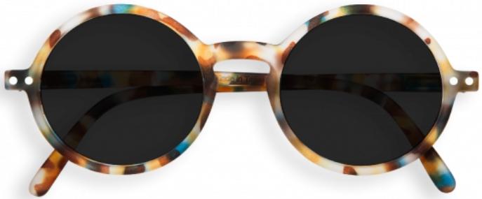 Очки Izipizi Junior Оправа #G голубо-черепаховые солнцезащитные