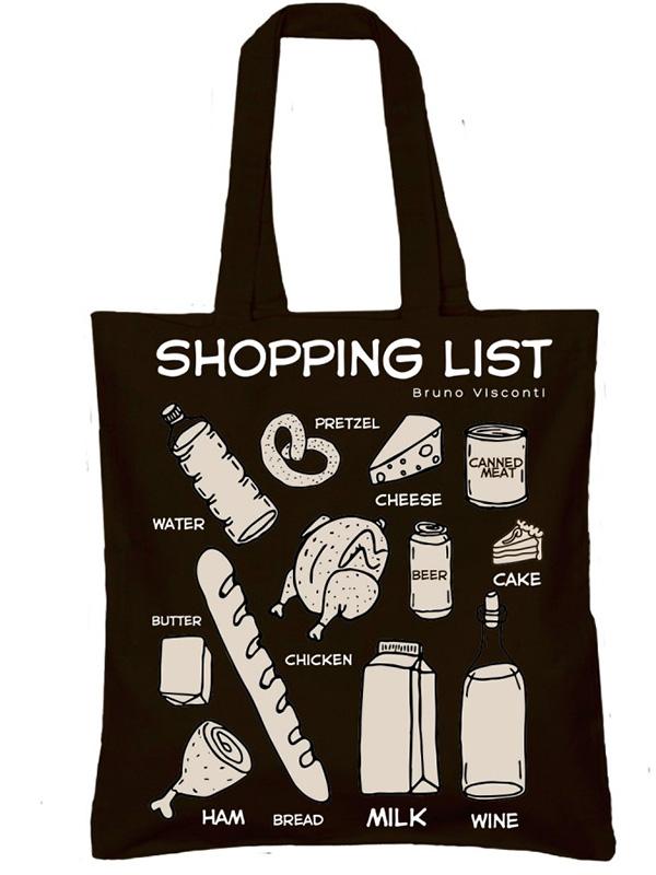 Сумка-шоппер Market (чёрная)