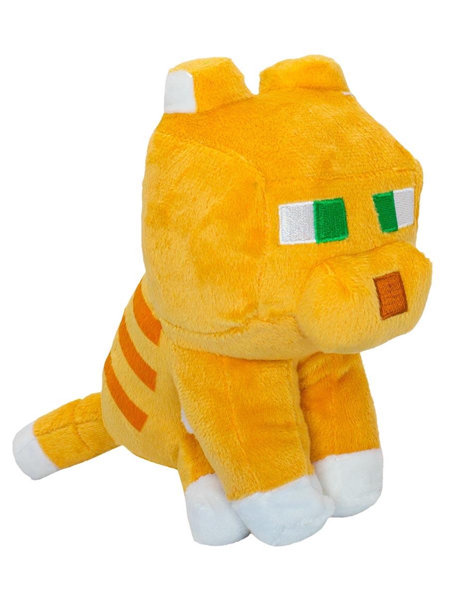 Мягкая игрушка Minecraft Happy Explorer Tabby Cat (23 см)