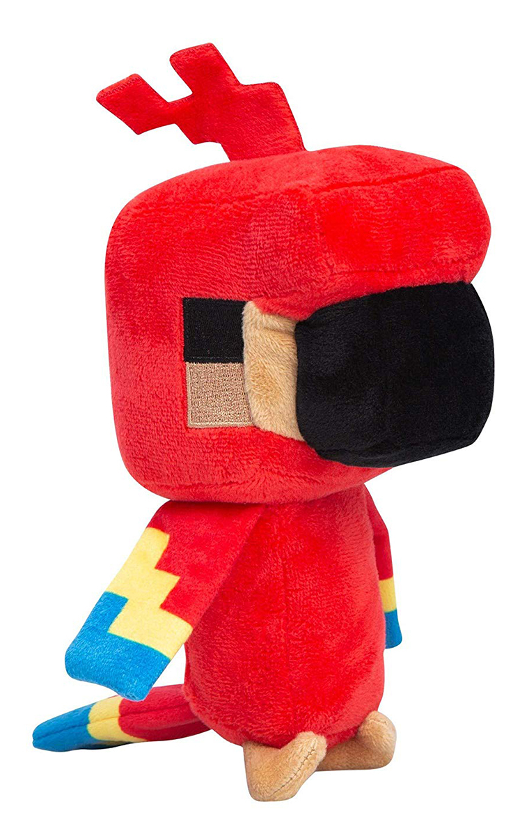 Мягкая игрушка Minecraft Happy Explorer Parrot (18 см)