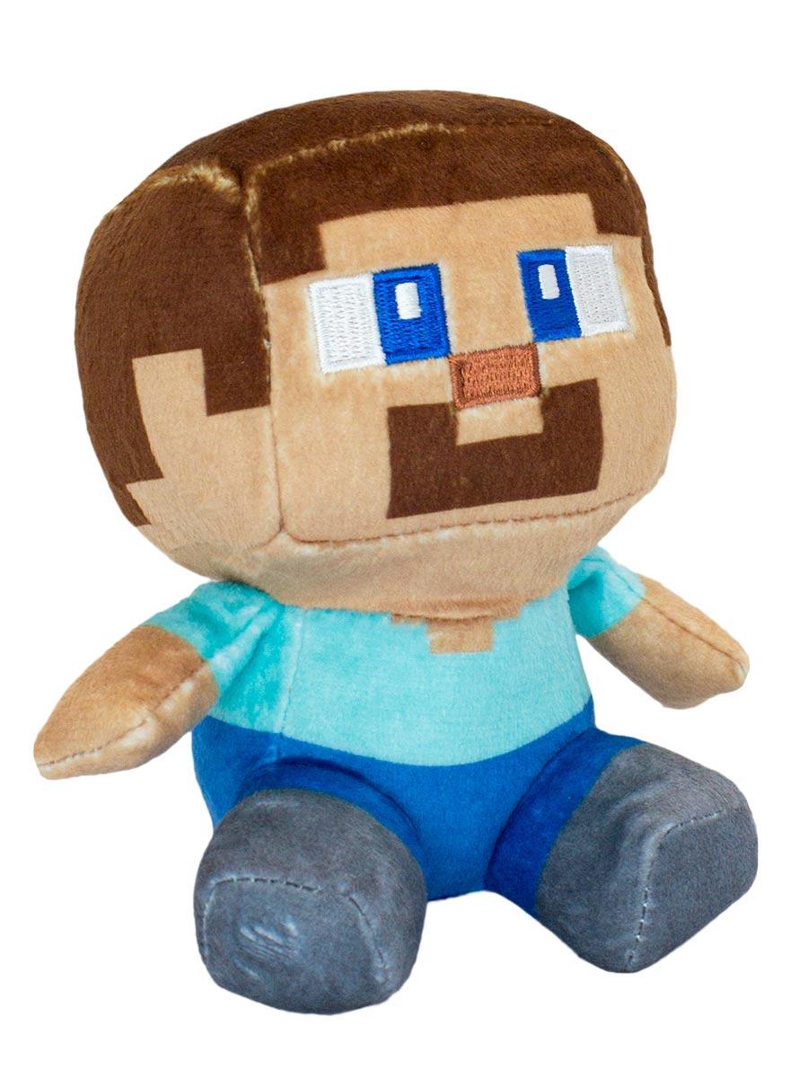 Мягкая игрушка Minecraft Mini Crafter Steve (13 см)