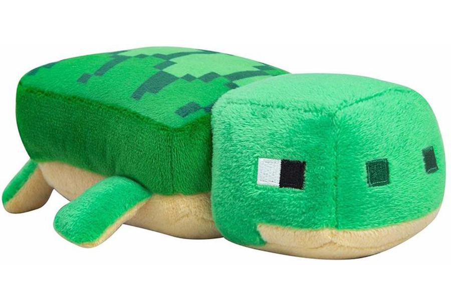 Мягкая игрушка Minecraft Happy Explorer Sea Turtle (18 см)