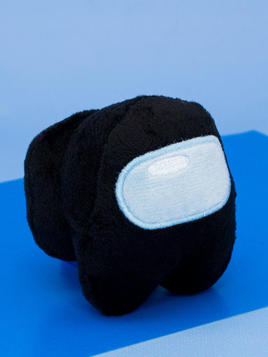 Мягкая игрушка Among Us черная (10 см)