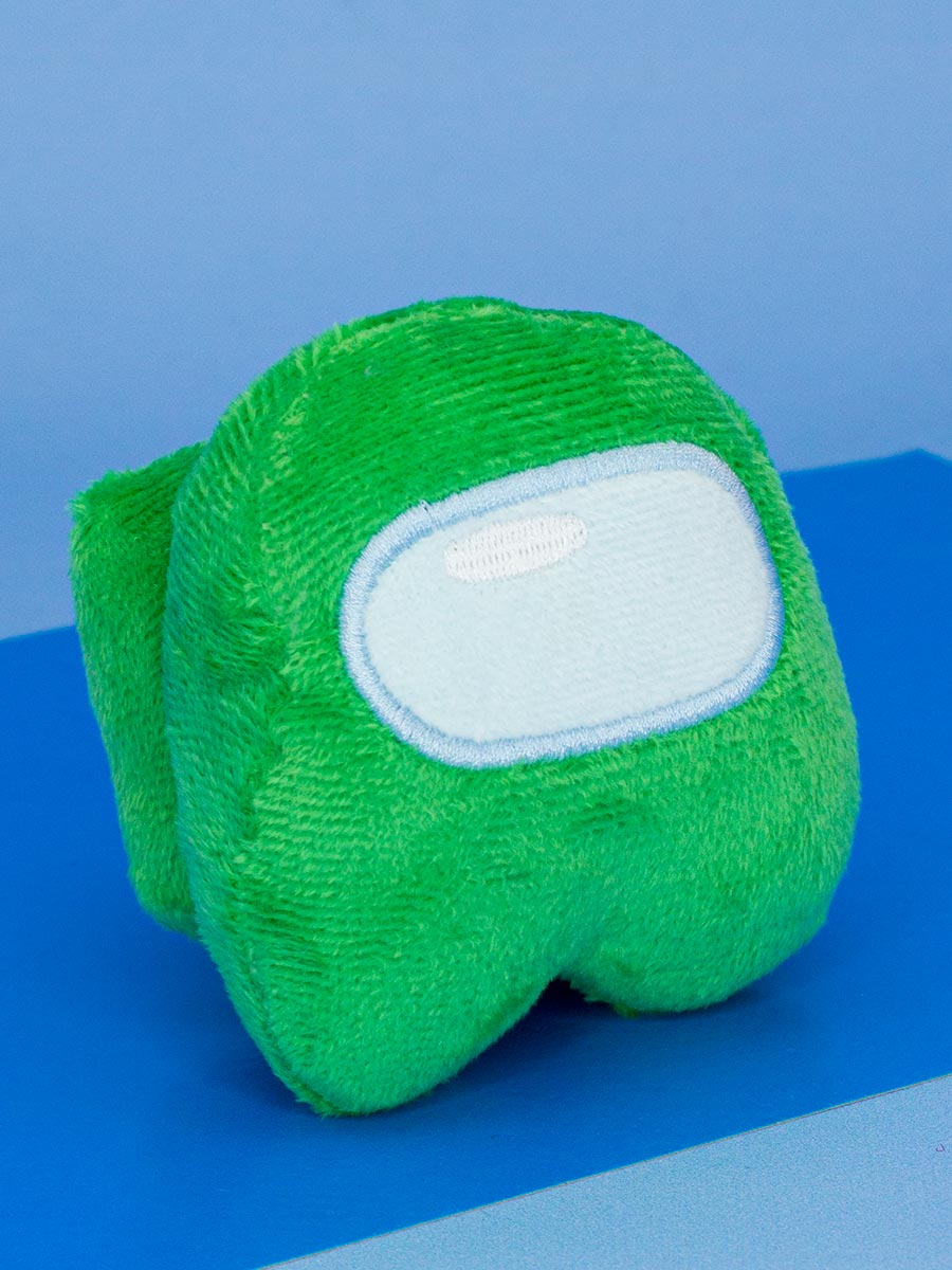 Мягкая игрушка Among Us зеленая (10 см)