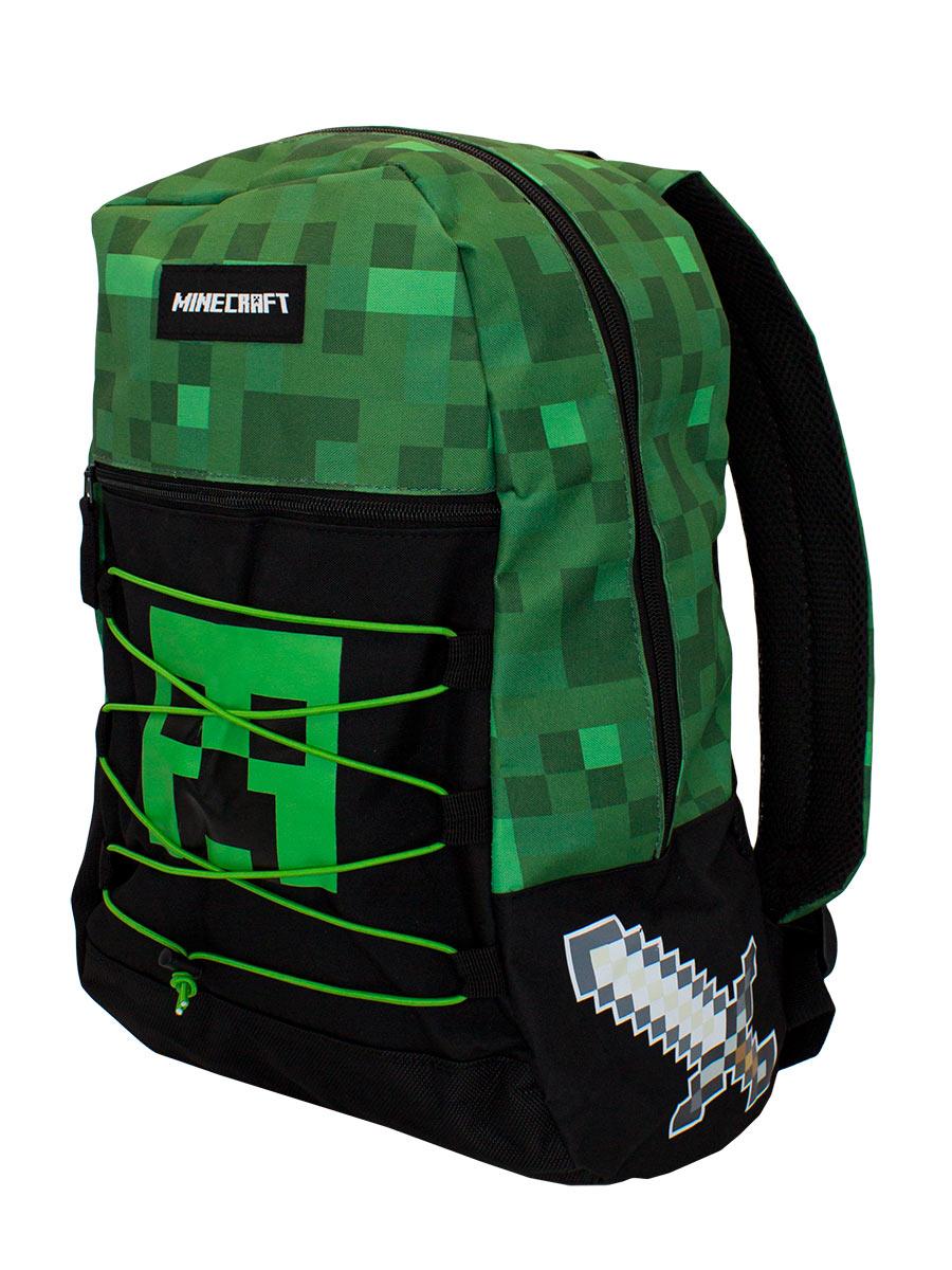 Рюкзак Minecraft: Creeper (зеленый)