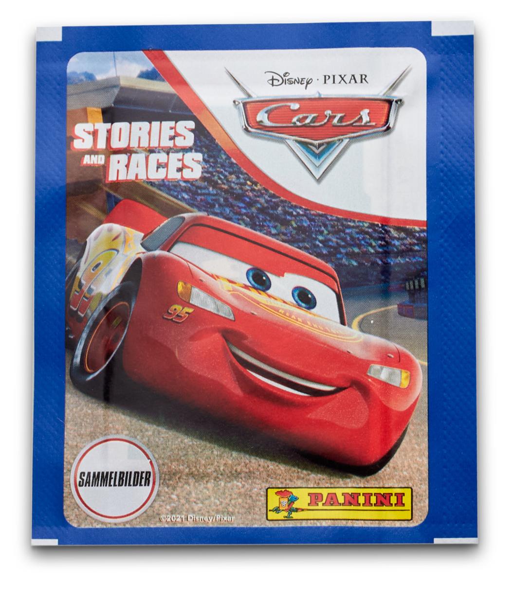 Набор наклеек Cars / Тачки Истории и гонки
