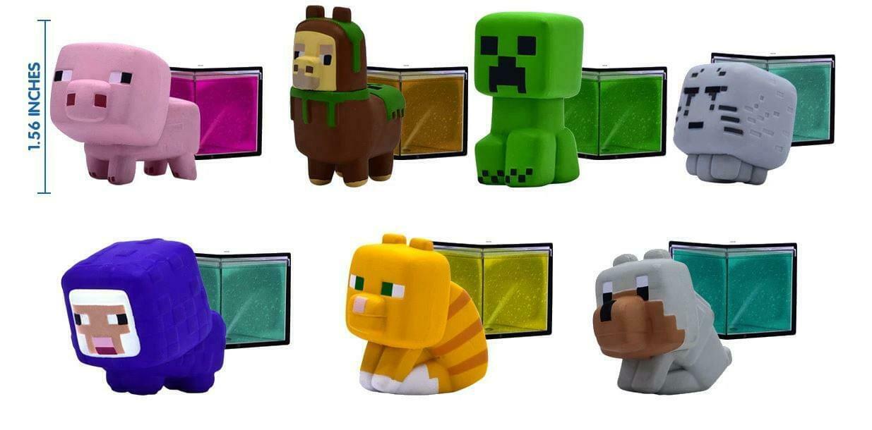 Набор-сюрприз Minecraft слайм + фигурка (в ассортименте)