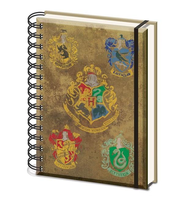 блокнот harry potter sirius Блокнот Harry Potter – Hogwarts Crest & Four Houses