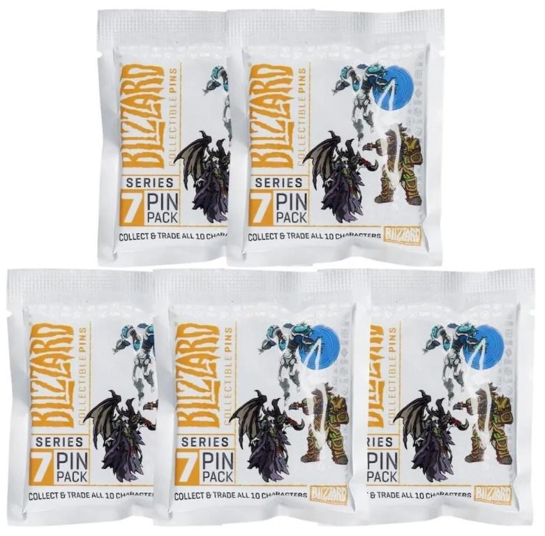 Набор значков Blizzard Series 7 Blind Pack Pins