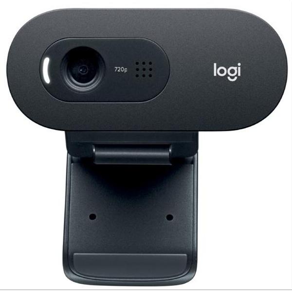 Веб-камера Logitech C505e (черный)