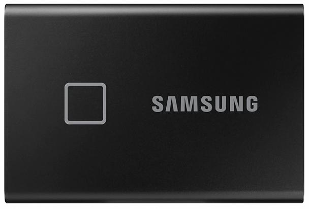 Твердотельный накопитель Samsung SSD T7 Touch 1TB USB Type-C (черный)