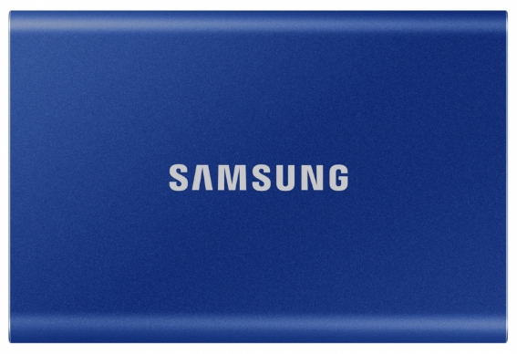 Твердотельный накопитель Samsung SSD T7 Touch 500GB USB Type-C (синий)