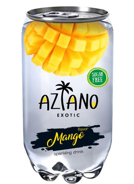 Напиток газированный Aziano Вкус манго (350 мл)