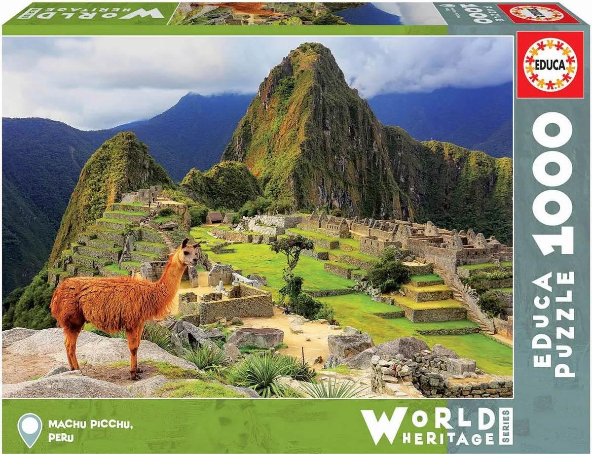 Puzzle Мачу-Пикчу: Перу 1000 деталей (1000 деталей)