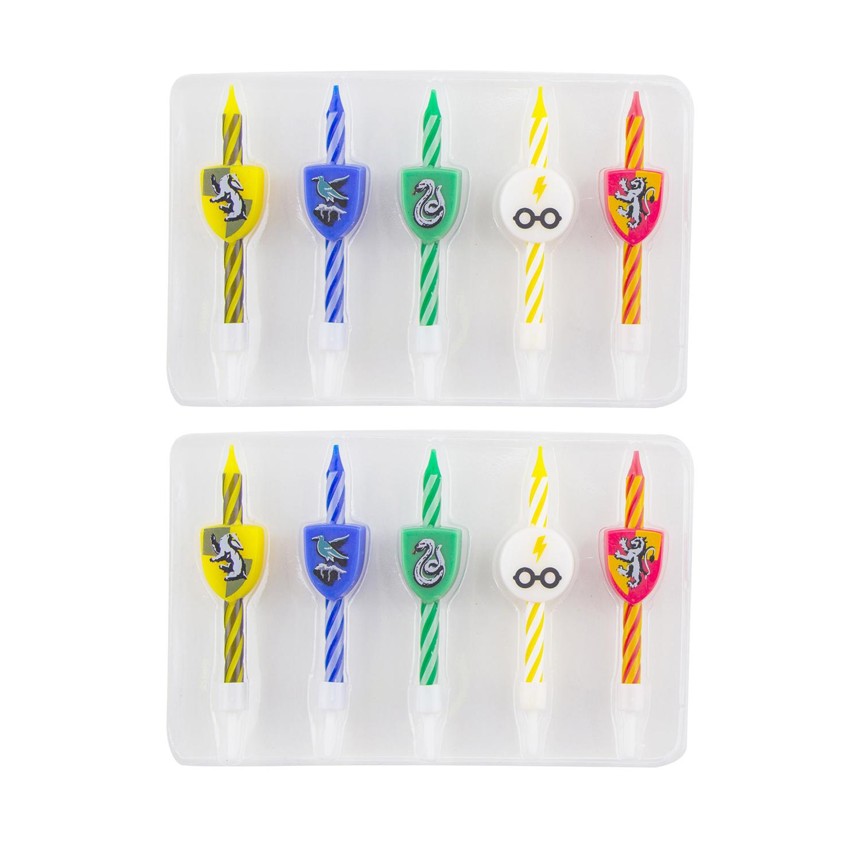 Набор свечей Harry Potter: Гербы (10-Pack)