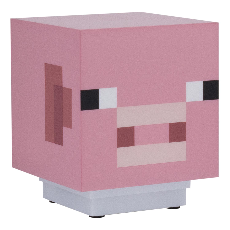 Светильник Minecraft: Pig (со звуком)