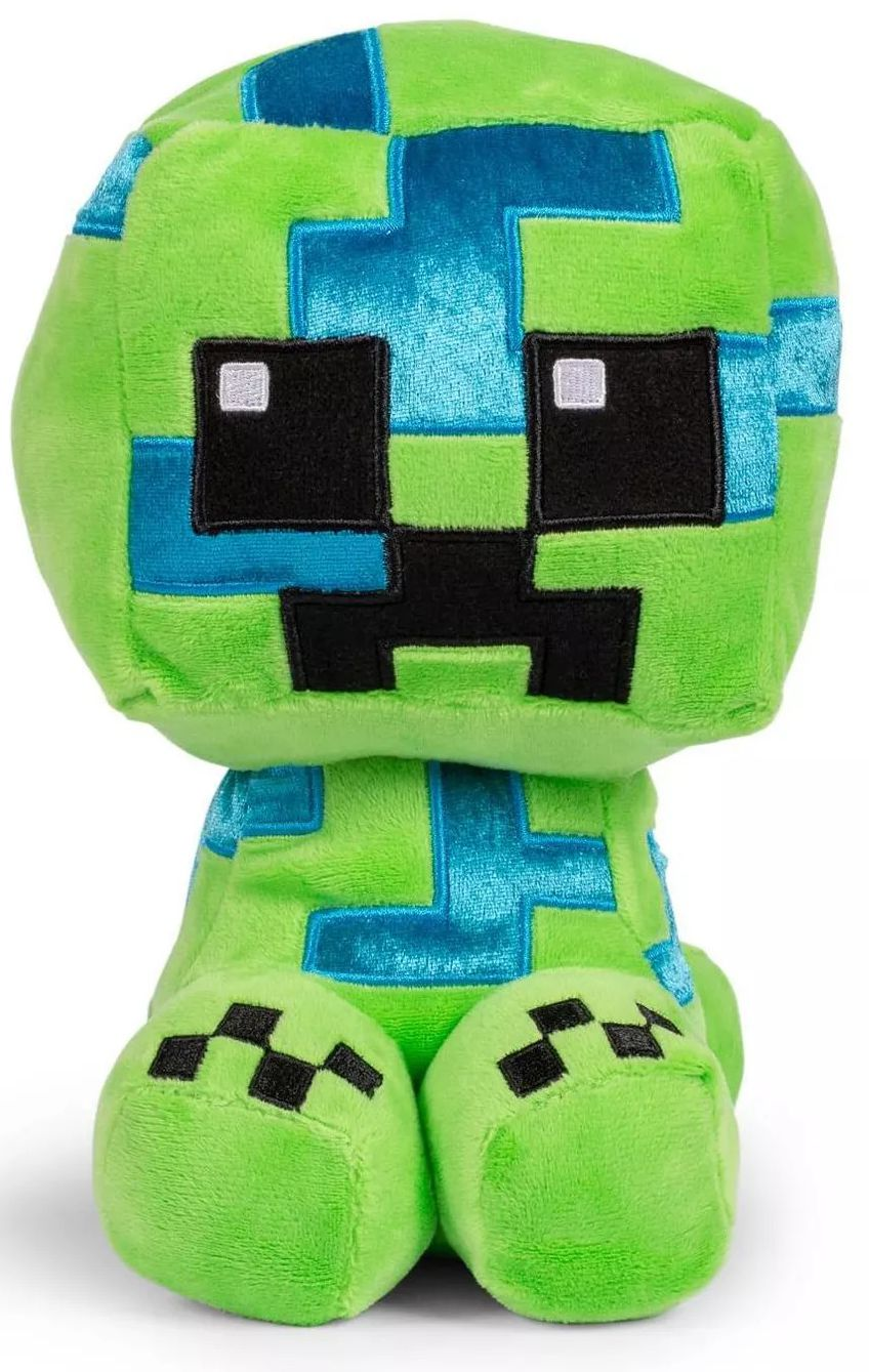 Мягкая игрушка Minecraft: Crafter Charged Creeper (22 см)