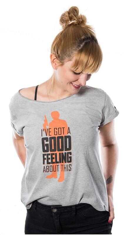 Футболка Star Wars: Good Feeling (женская)