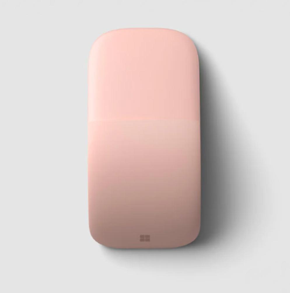 Мышь Microsoft Arc Soft Pink Mouse беспроводная для PC